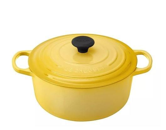 Panela Redonda Le Creuset Amarelo Dijon 26 cm