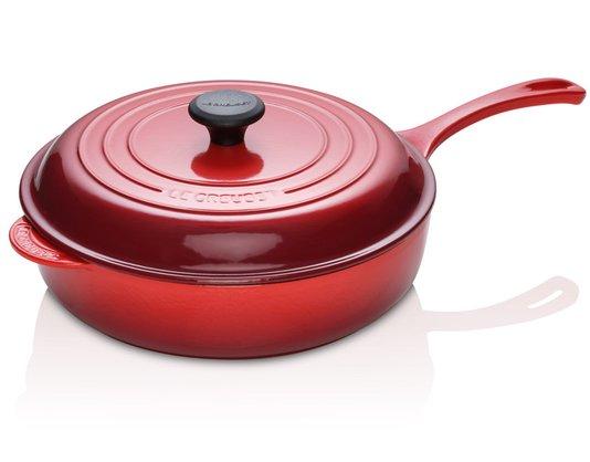 Panela Saute Tradition Le Creuset Vermelho 30cm