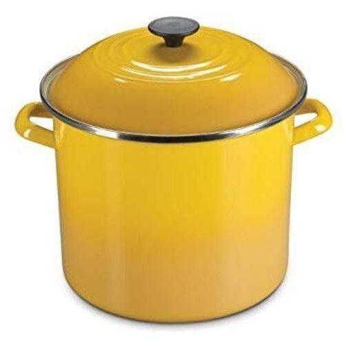 Panela Stock Pot Le Creuset Amarelo Dijon 7,6 litros