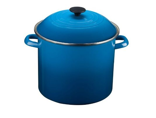 Panela Stock Pot Le Creuset Azul Marseille 26 Cm