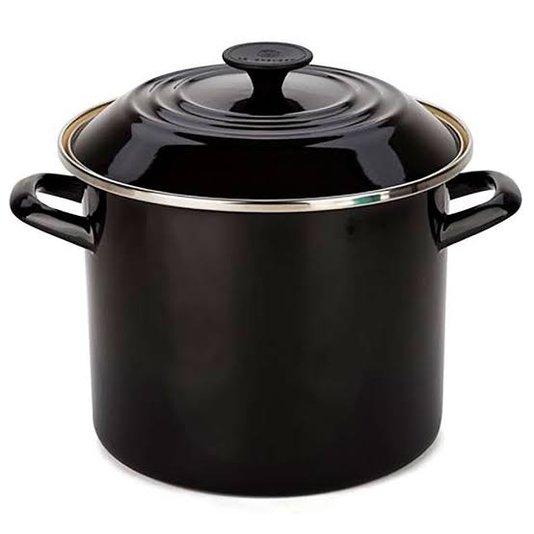 Panela Stock Pot Le Creuset Black Onix 26 Cm