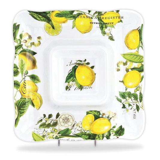 Petisqueira Quadrada Lemon Michel Design Works 30 cm