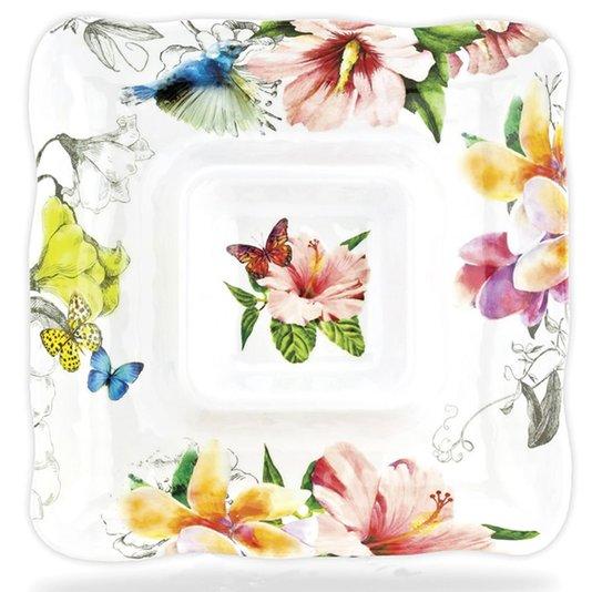 Petisqueira Quadrada Paradise Michel Design Works 30 cm
