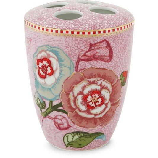 Porta Escova de Dentes Spring to Life Pip Studio Rosa