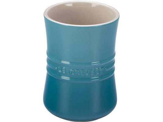 Porta Utensílios de Cerâmica Le Creuset Azul Caribe