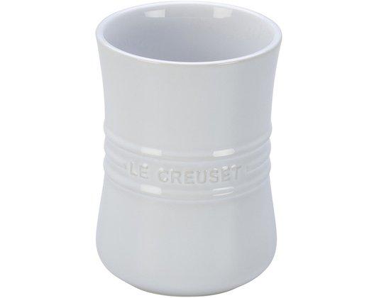 Porta Utensílios de Cerâmica Le Creuset Branco