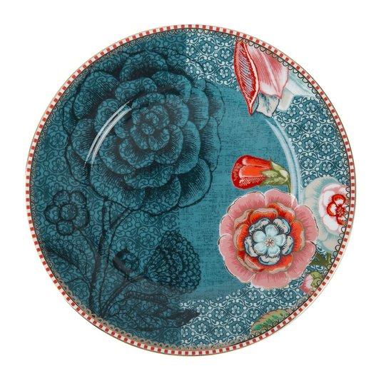 Prato de Pão Spring to Life Pip Studio Azul 17 cm
