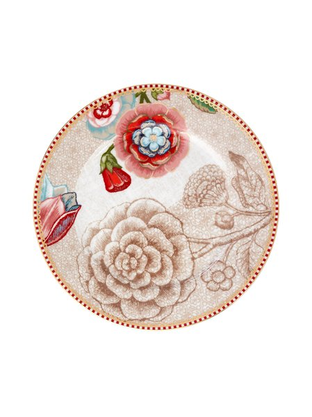 Prato de Pão Spring to Life Pip Studio Off White 17 cm