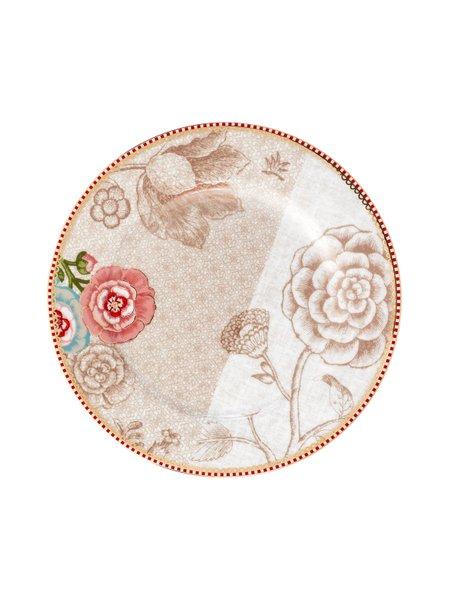 Prato de Sobremesa Spring to Life Pip Studio Off White 21 cm