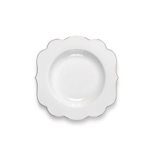 Prato de Sopa Royal White Pip Studio 23 cm