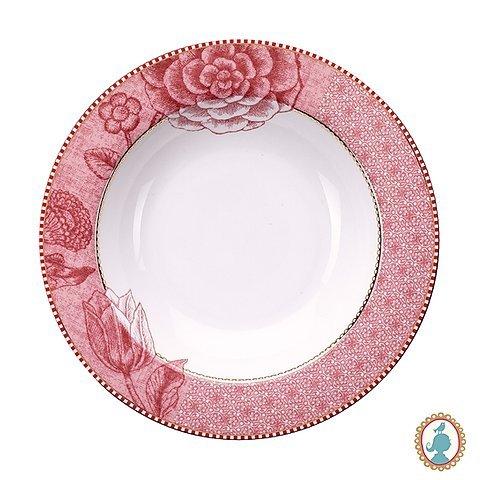 Prato de Sopa Spring to Life Pip Studio Rosa 21 cm