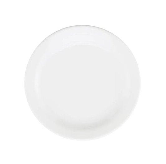 Prato Para Sobremesa White Oxford 20cm