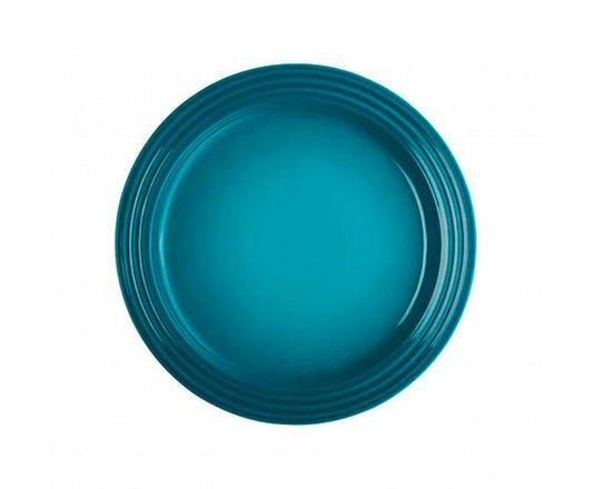 Prato Raso de Cerâmica Le Creuset Azul Caribe 22 cm