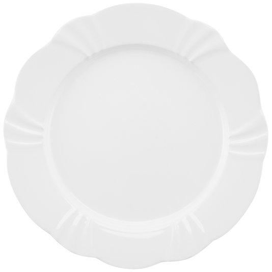 Prato Raso Soleil White Oxford Branco 29 cm