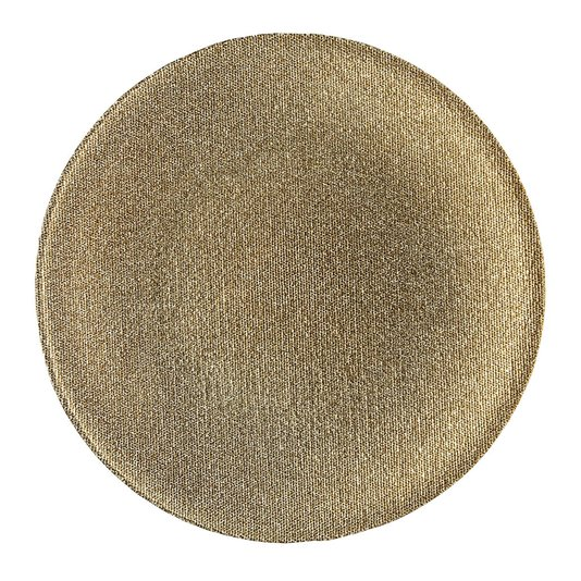 Prato Sousplat Emperor Copa & Cia Gold 33 cm