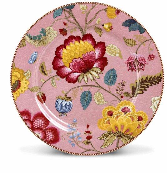Prato Sousplat Floral Fantasy Pip Studio Rosa 32 cm