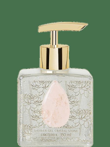 Sabonete em Gel Cristal Stone Rose Laboterra 350 ml