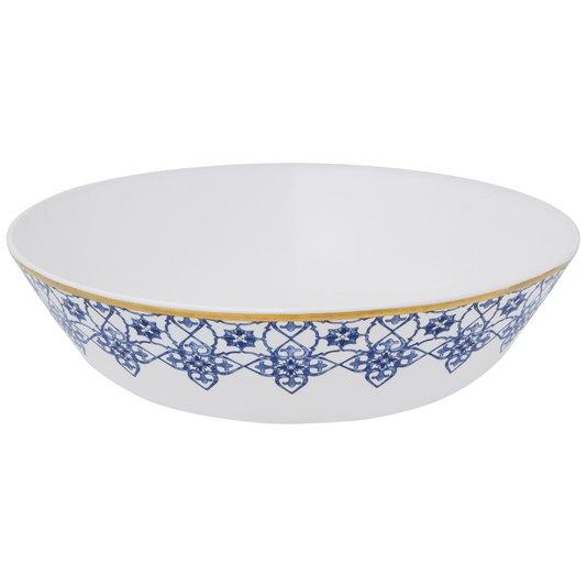 Saladeira de Porcelana Coup Lusitana Oxford 26 cm