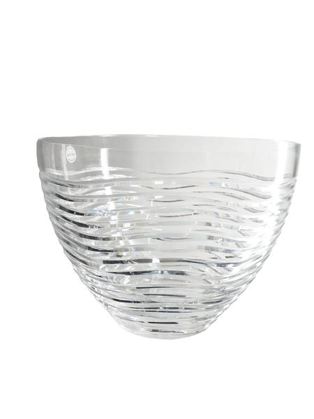 Saladeira em Cristal Lapidado Strauss Transparente