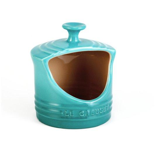 Porta Sal Le Creuset Azul Caribe 300ml