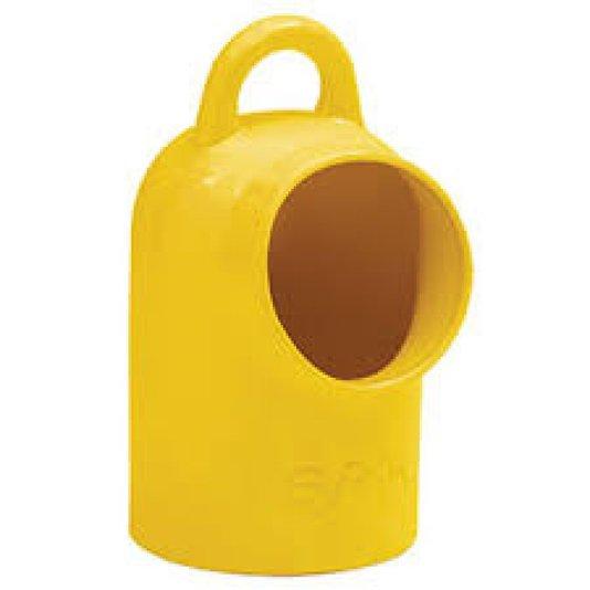 Saleiro Porcelana Amarelo Oxford