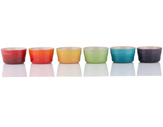 Set 06 Mini Ramekin Gift Collection Le Creuset Colorido