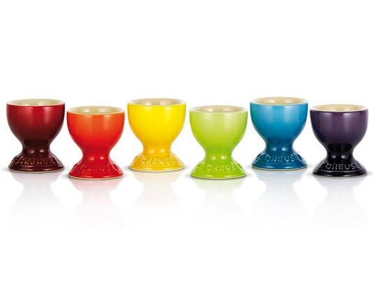 Set 06 Suportes Para Ovo Gift Collection Le Creuset Colorido