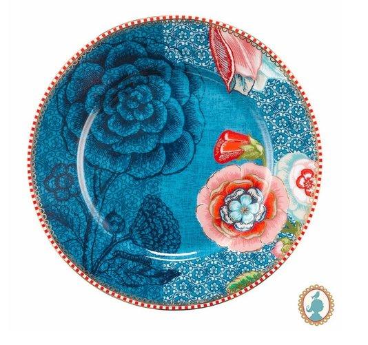Set 2 Pratos de Pão Spring to Life  Pip Studio Azul