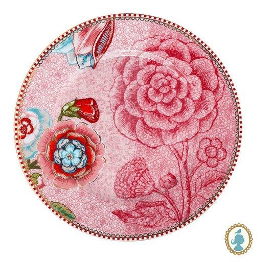 Set 2 Pratos de Pão Spring to Life  Pip Studio Rosa