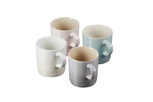 Set 4 Canecas Chá Calm Collection Le Creuset Colorido 350 ml