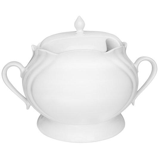 Sopeira de Porcelana Soleil White Oxford Branco 4 Litros