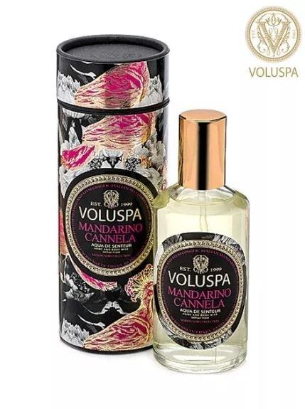 Spray Corpo e Ambiente Mandarino Cannela Voluspa 108 ml