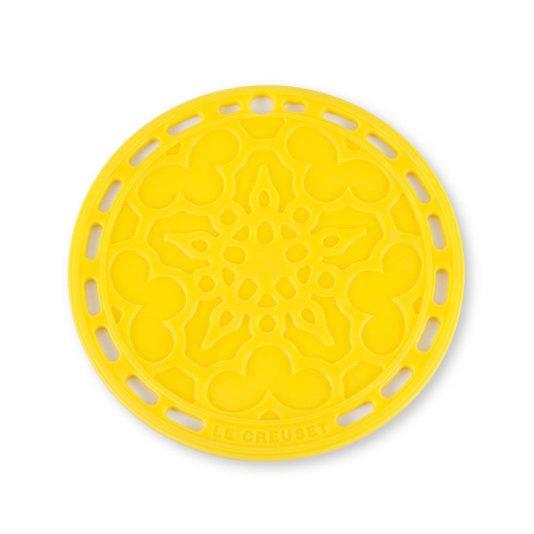Suporte de Silicone Mandala Le Creuset Amarelo Dijon
