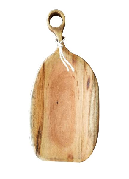 Tábua Form de Madeira Maciça Woood G 49x23 cm