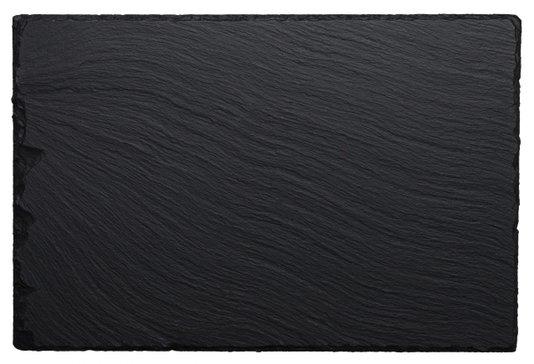 Tábua Retangular para Servir Ardosia Oxford Preta 30,9 cm