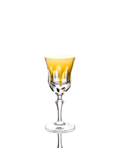 Taça para Licor em Cristal Overley Mozart Âmbar 80 ml