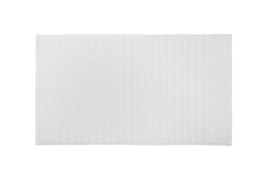 Tapete Piso Ondulato Trussardi Branco 48cm x 80cm