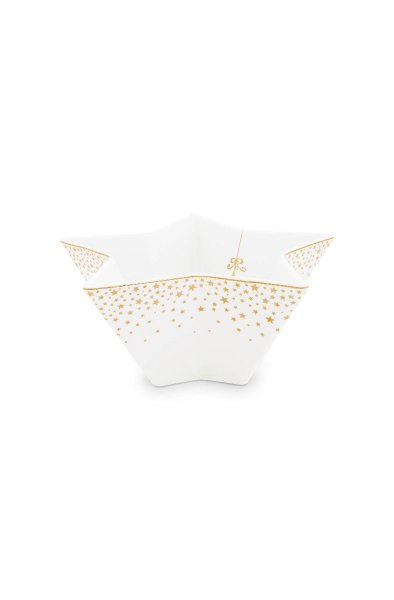 Tigela Bowl Estrela Royal Christmas Natal Pip Studio 20 cm