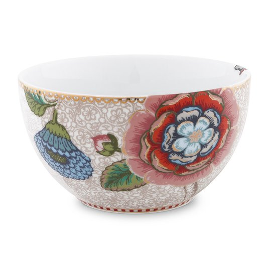 Tigela Bowl Spring to Life Pip Studio Off White 12 cm