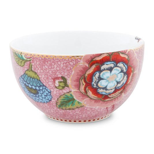 Tigela Bowl Spring to Life Pip Studio Rosa 12 cm