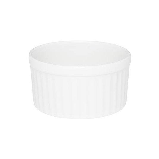 Tigela Ramequin Refratária Oxford Branco 180 ml