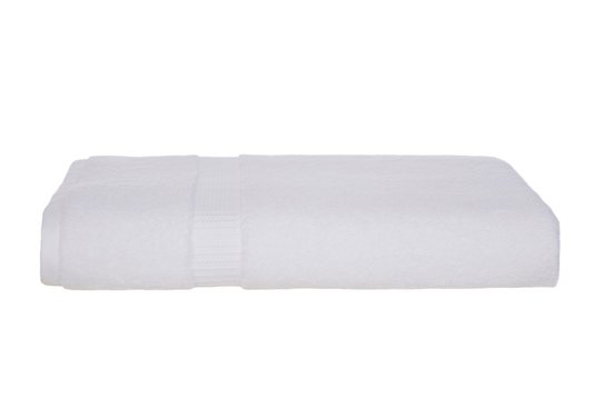 Toalha de Banho Doppia Trussardi Branco 77X1,40