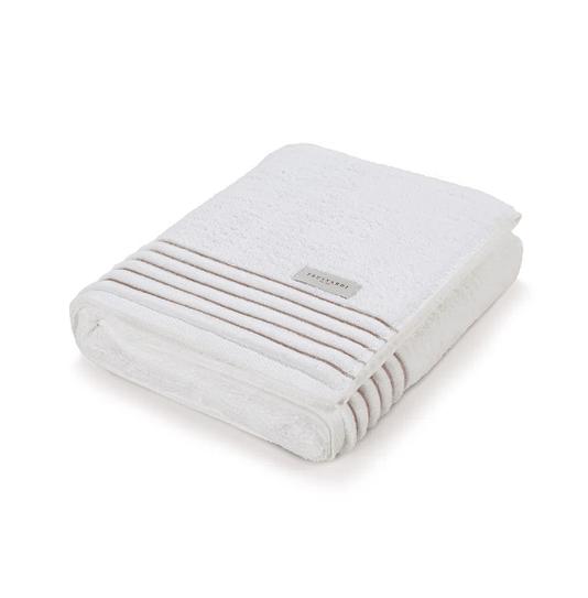 Toalha De Banho Palladio Branco/Legno G 86X150cm