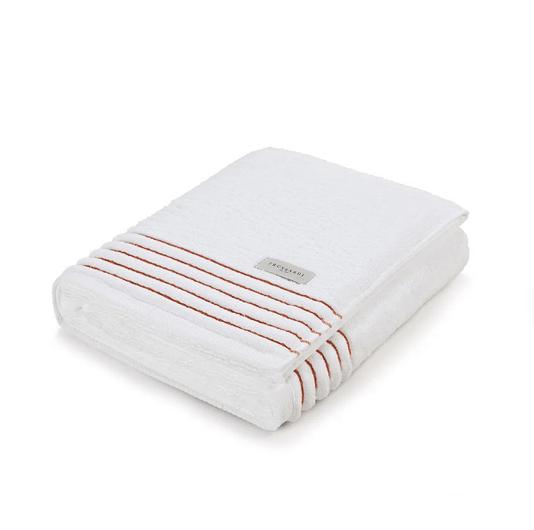 Toalha De Banho Palladio Branco/Ruggine G  86X150cm