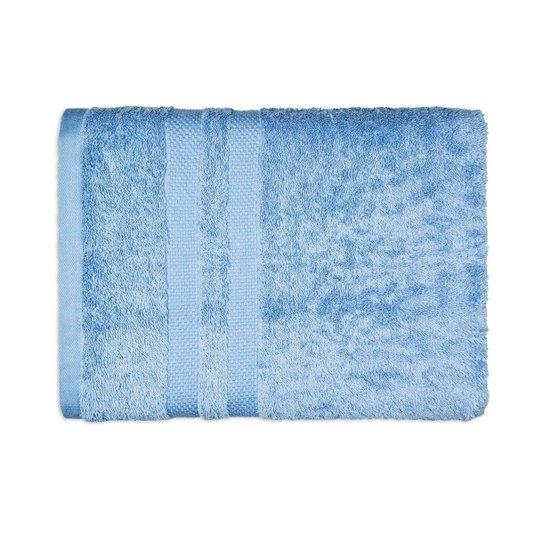 Toalha De Rosto Egipto Classic Karsten Azul Cósmico 80 cm