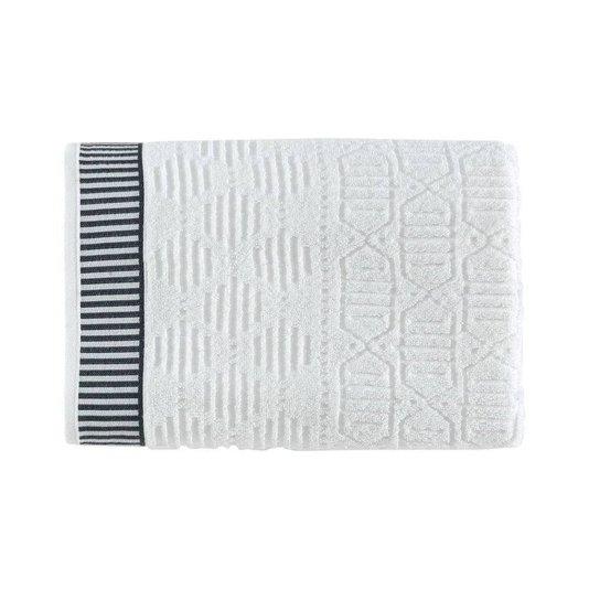 Toalha De Rosto Evan Karsten Branco 80 cm