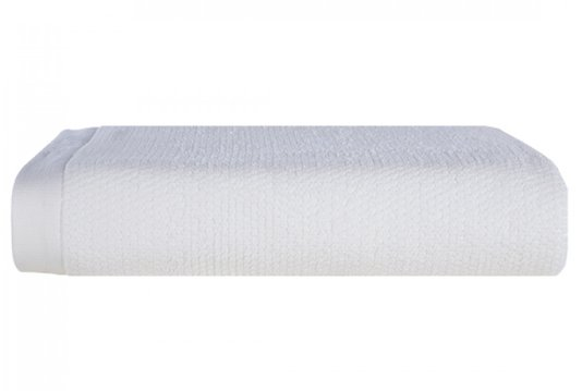 Toalha de Rosto Maggiore Trussardi Branco 48cm X 90cm
