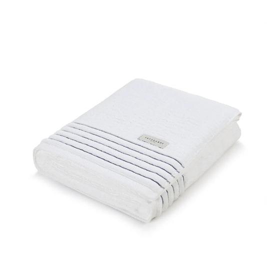 Toalha De Rosto Palladio Branco e Granel 48x80cm