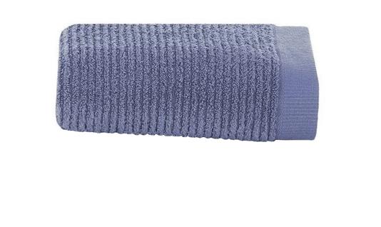 Toalha Lavabo Dual Rib Buddemeyer Azul Claro 50 cm