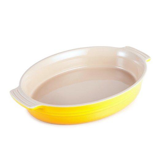 Travessa Oval Le Creuset Amarelo Dijon 36 cm